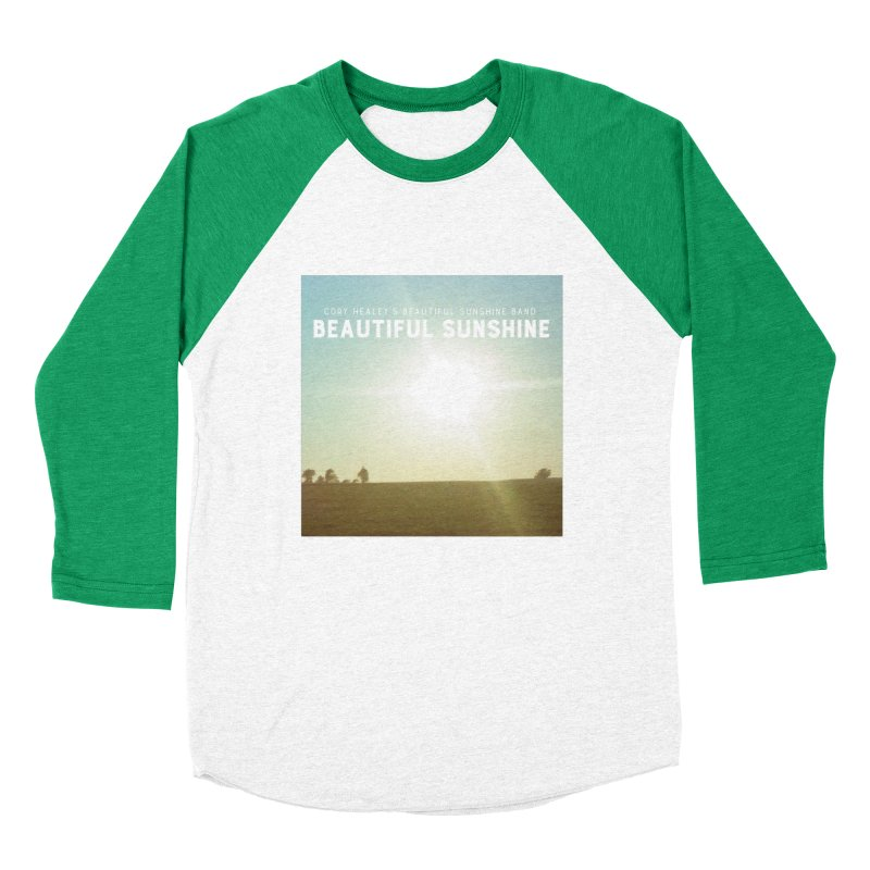 Cory Healey's Beautiful Sunshine Cover Men's Baseball Triblend Longsleeve T-Shirt by shiftingparadigmrecords's Artist Shop