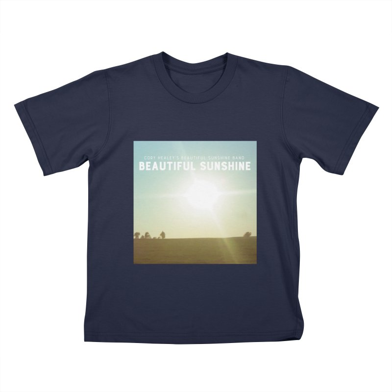 Cory Healey's Beautiful Sunshine Cover Kids T-Shirt by shiftingparadigmrecords's Artist Shop