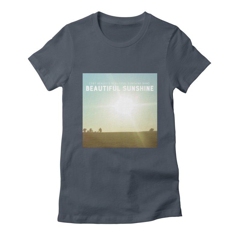 Cory Healey's Beautiful Sunshine Cover Women's T-Shirt by shiftingparadigmrecords's Artist Shop