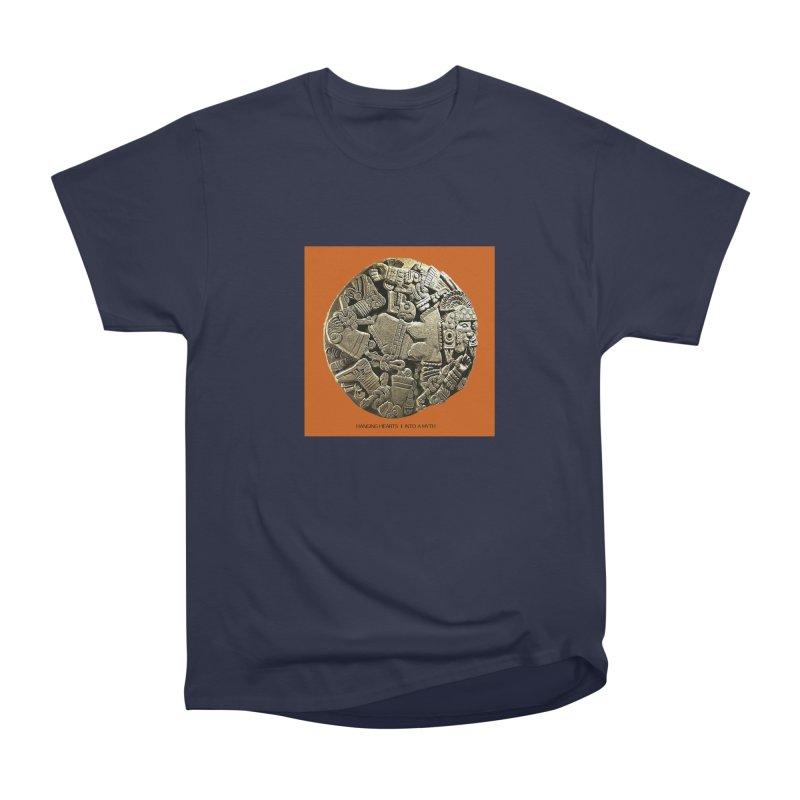Hanging Hearts' INTO A MYTH Men's Heavyweight T-Shirt by shiftingparadigmrecords's Artist Shop