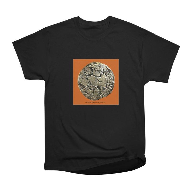 Hanging Hearts' INTO A MYTH Men's T-Shirt by shiftingparadigmrecords's Artist Shop