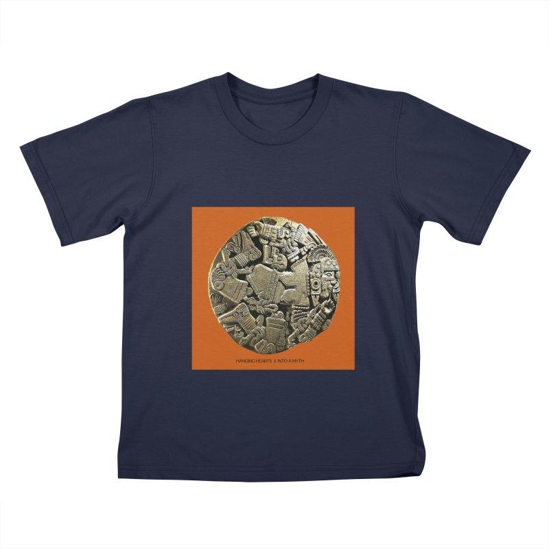 Hanging Hearts' INTO A MYTH Kids T-Shirt by shiftingparadigmrecords's Artist Shop