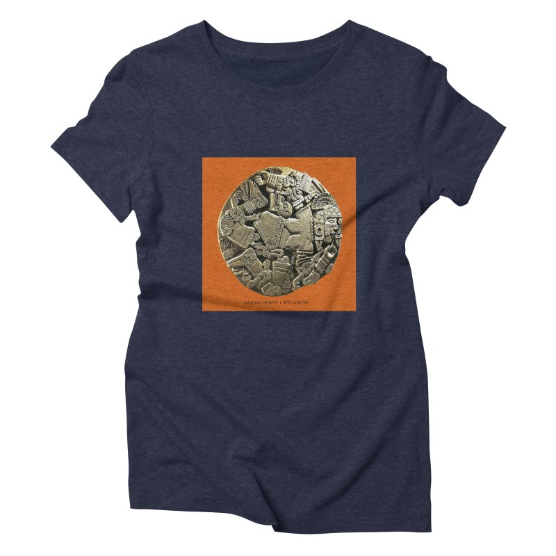 Hanging Hearts' INTO A MYTH Women's T-Shirt by shiftingparadigmrecords's Artist Shop