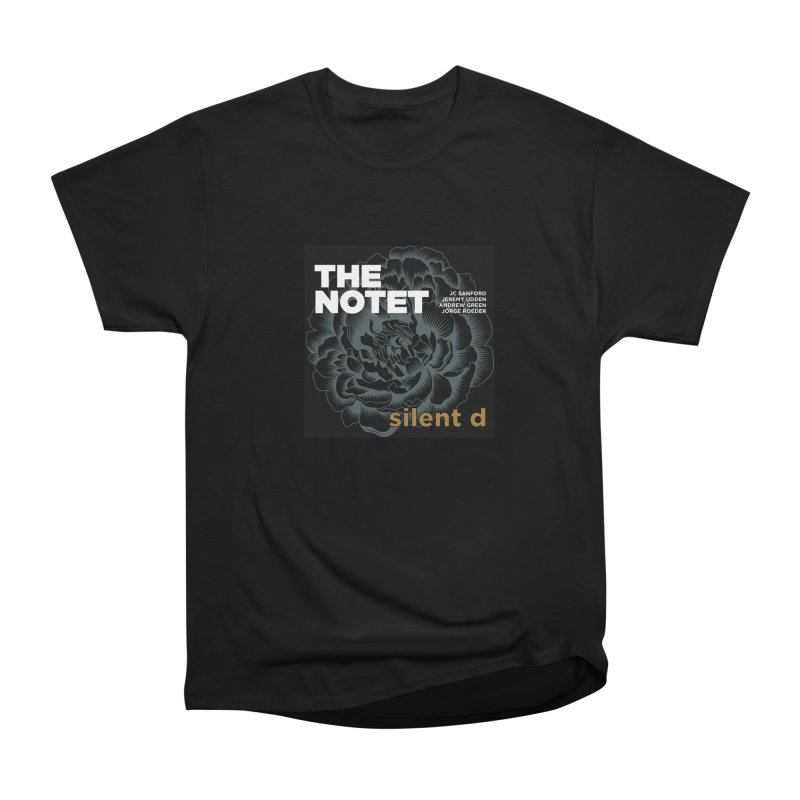 The Notet's SILENT D album cover Men's T-Shirt by shiftingparadigmrecords's Artist Shop