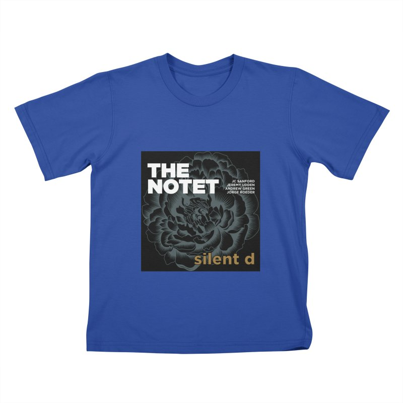 The Notet's SILENT D album cover Kids T-Shirt by shiftingparadigmrecords's Artist Shop