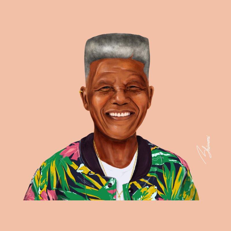 Nelson Mandela Home Framed Fine Art Print by shimoni's Artist Shop