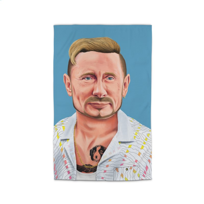 Vladimir Putin Home Rug by shimoni's Artist Shop