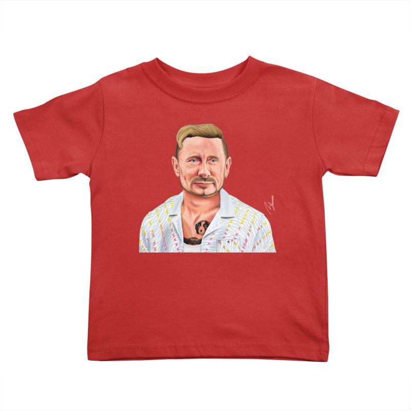 Vladimir Putin Kids Toddler T-Shirt by shimoni's Artist Shop