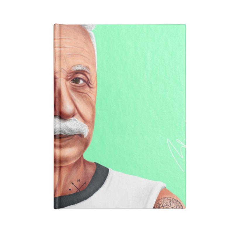 Albert Einstein Accessories Notebook by shimoni's Artist Shop