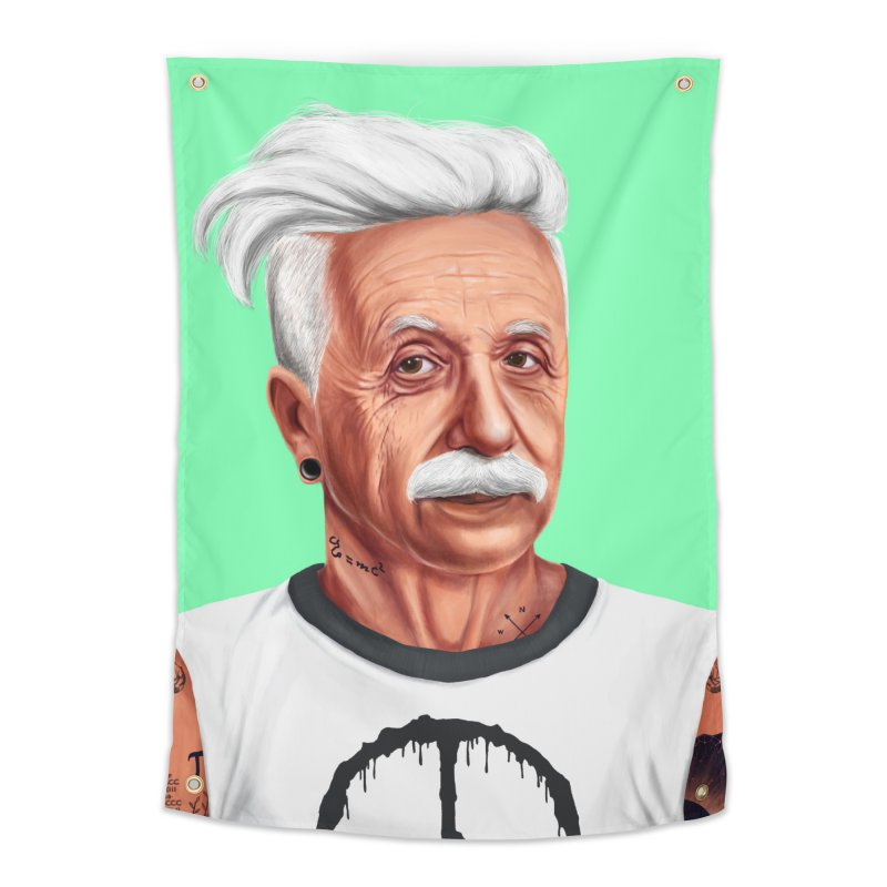 Albert Einstein Home Tapestry by shimoni's Artist Shop