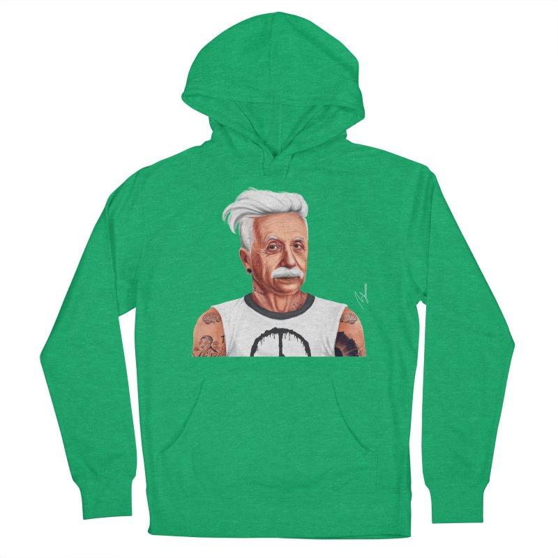 Albert Einstein Men's Pullover Hoody by shimoni's Artist Shop