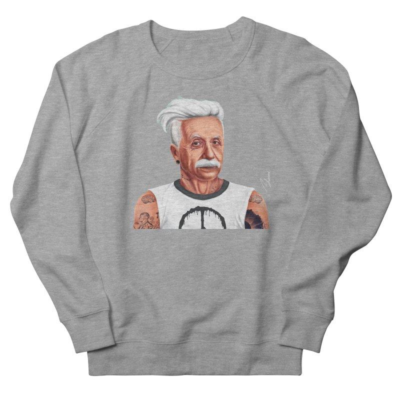 Albert Einstein Men's Sweatshirt by shimoni's Artist Shop