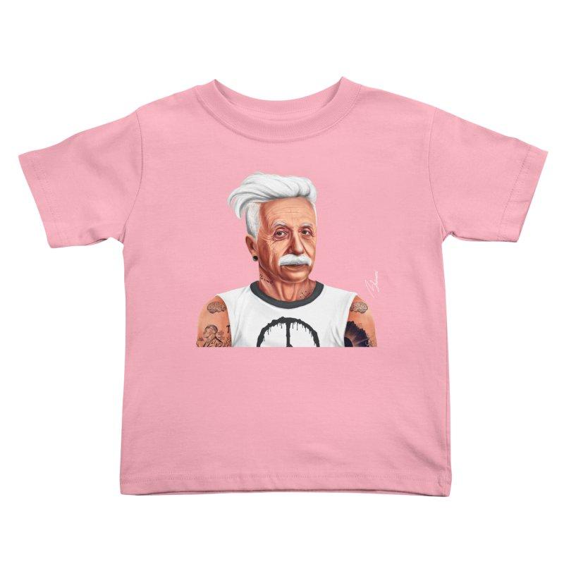 Albert Einstein Kids Toddler T-Shirt by shimoni's Artist Shop