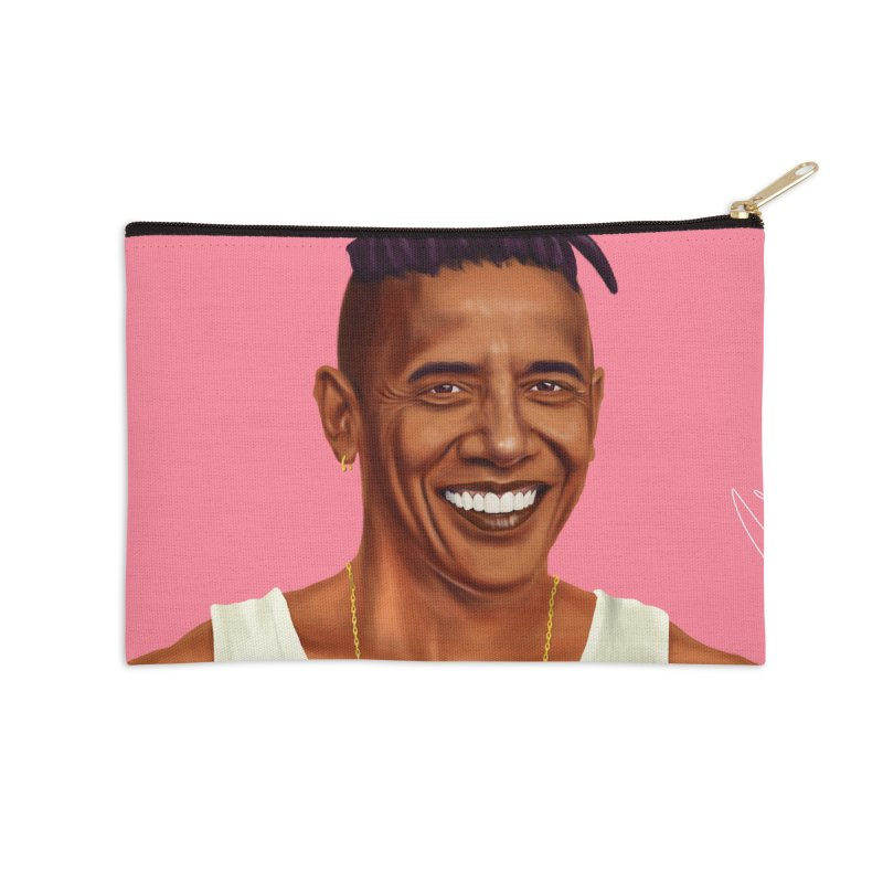 Barack Obama Accessories Zip Pouch by shimoni's Artist Shop