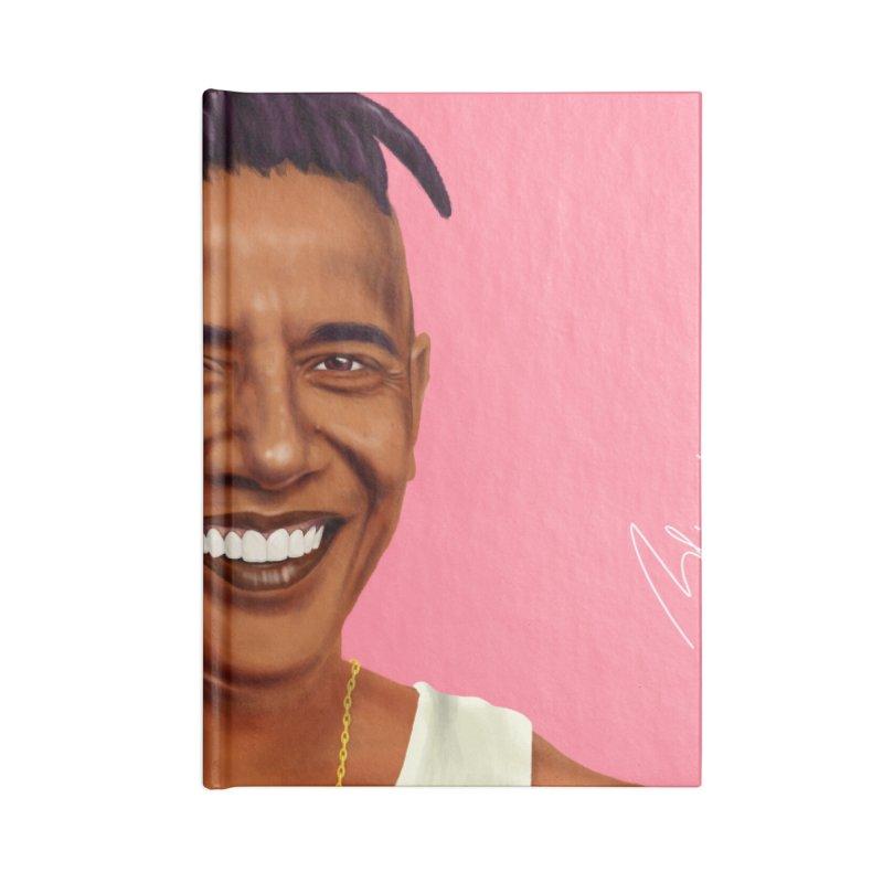 Barack Obama Accessories Notebook by shimoni's Artist Shop