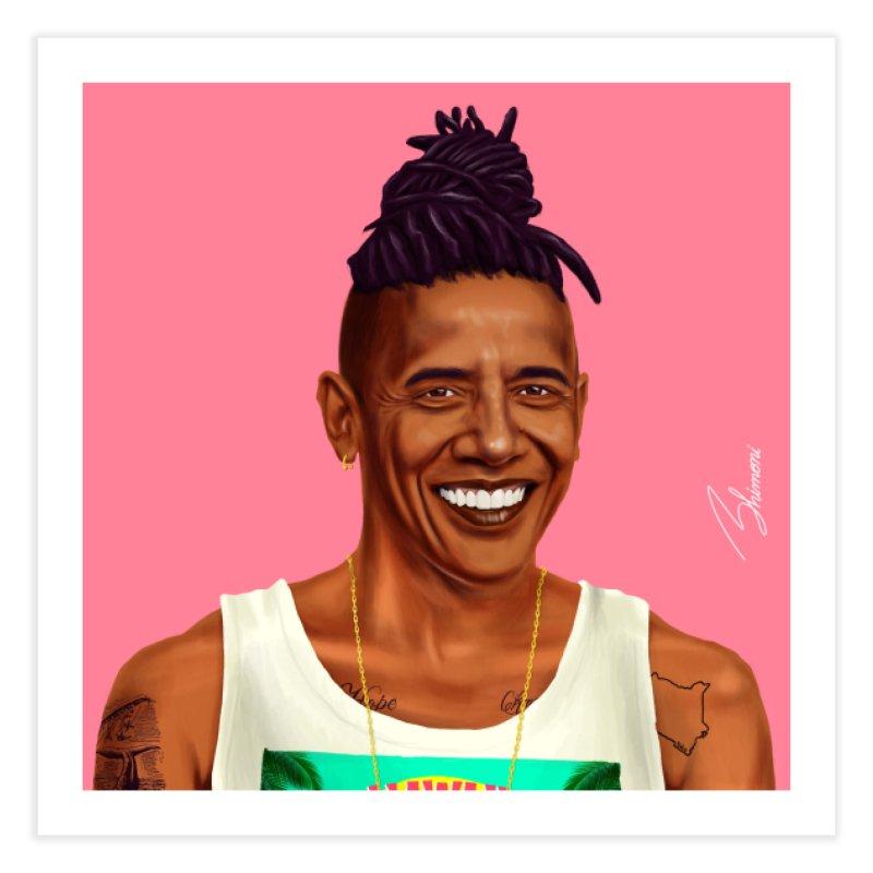 Barack Obama Home Fine Art Print by shimoni's Artist Shop