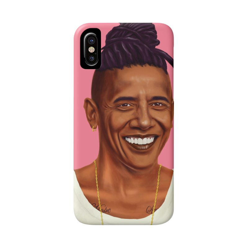 Barack Obama Accessories Phone Case by shimoni's Artist Shop