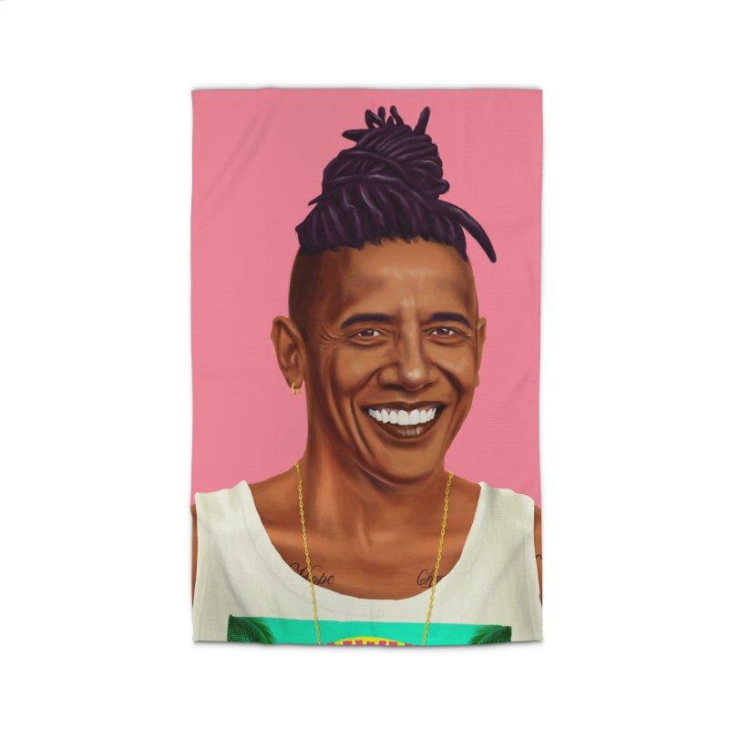 Barack Obama Home Rug by shimoni's Artist Shop