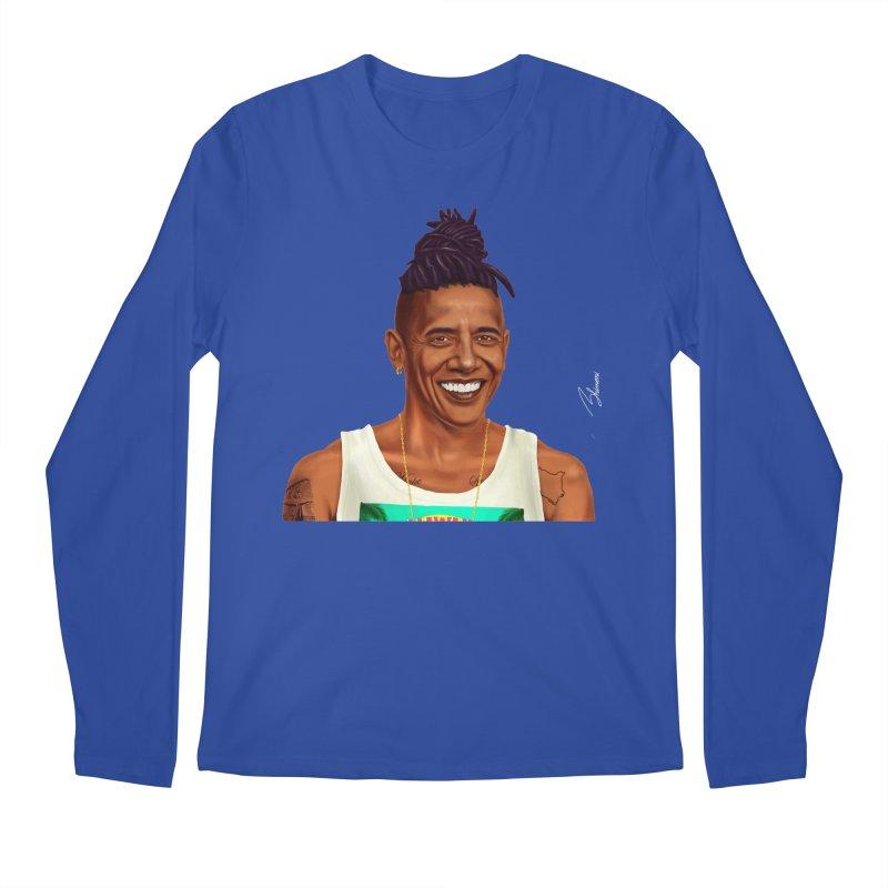 Barack Obama Men's Longsleeve T-Shirt by shimoni's Artist Shop