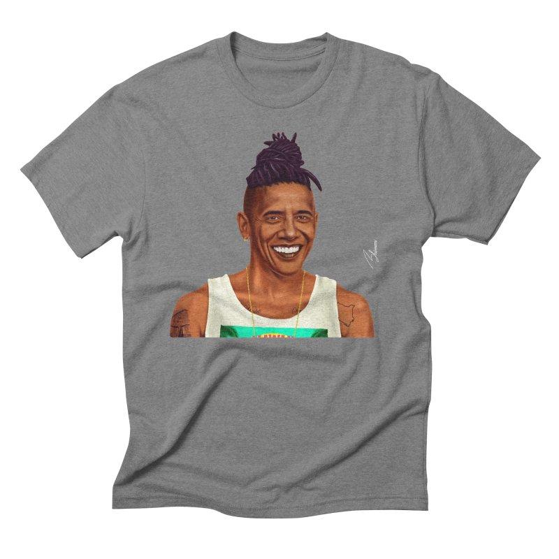 Barack Obama Men's Triblend T-shirt by shimoni's Artist Shop
