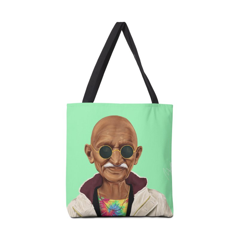 Mahatma Gandhi Accessories Bag by shimoni's Artist Shop