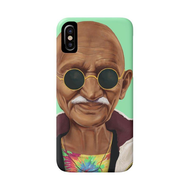 Mahatma Gandhi Accessories Phone Case by shimoni's Artist Shop