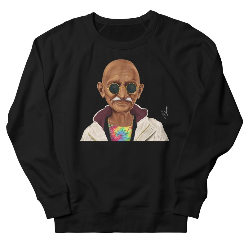 Mahatma Gandhi Women's Sweatshirt by shimoni's Artist Shop