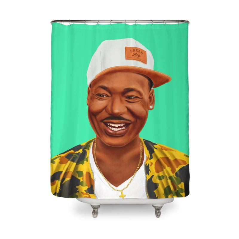 Martin Luther King Home Shower Curtain by shimoni's Artist Shop