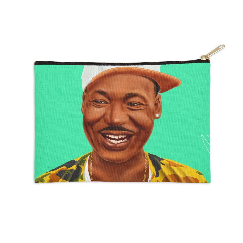 Martin Luther King Accessories Zip Pouch by shimoni's Artist Shop