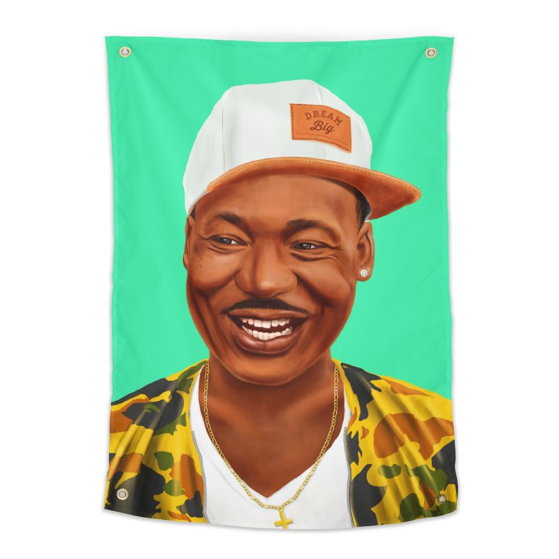 Martin Luther King Home Tapestry by shimoni's Artist Shop