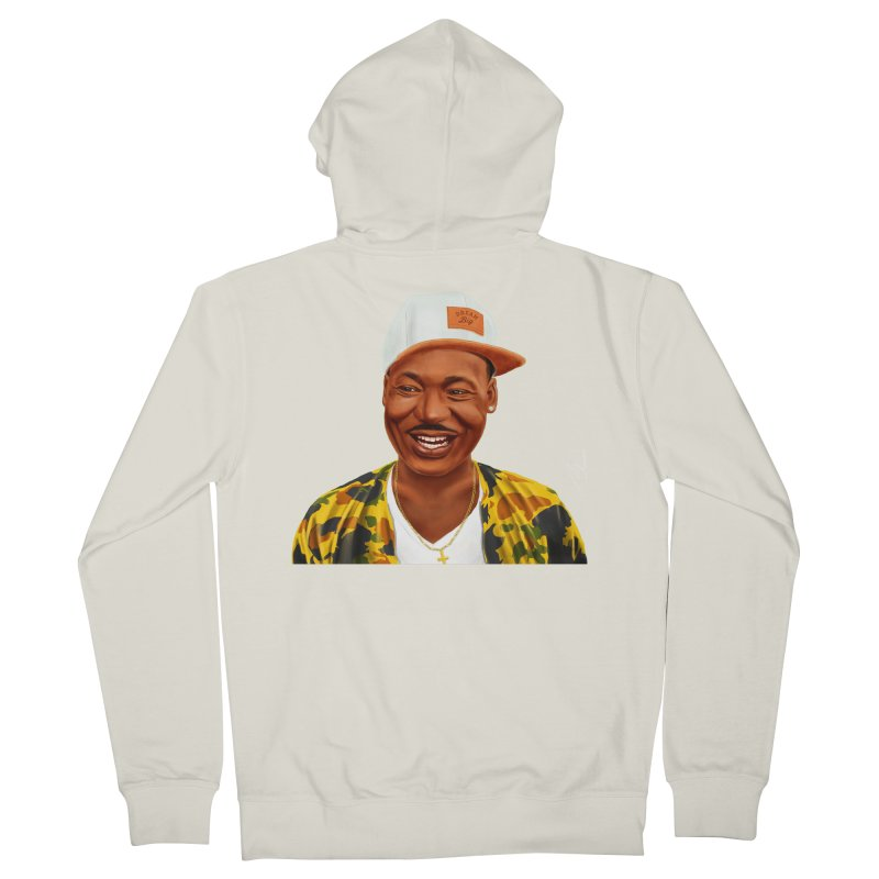 Martin Luther King Women's Zip-Up Hoody by shimoni's Artist Shop