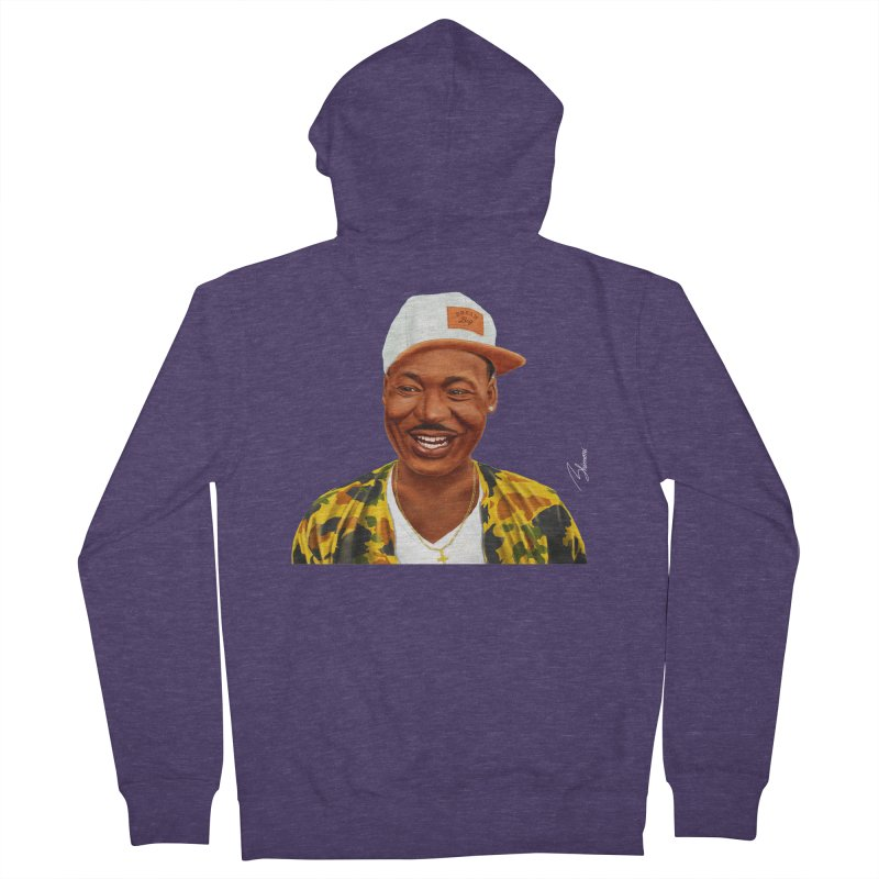 Martin Luther King Men's Zip-Up Hoody by shimoni's Artist Shop