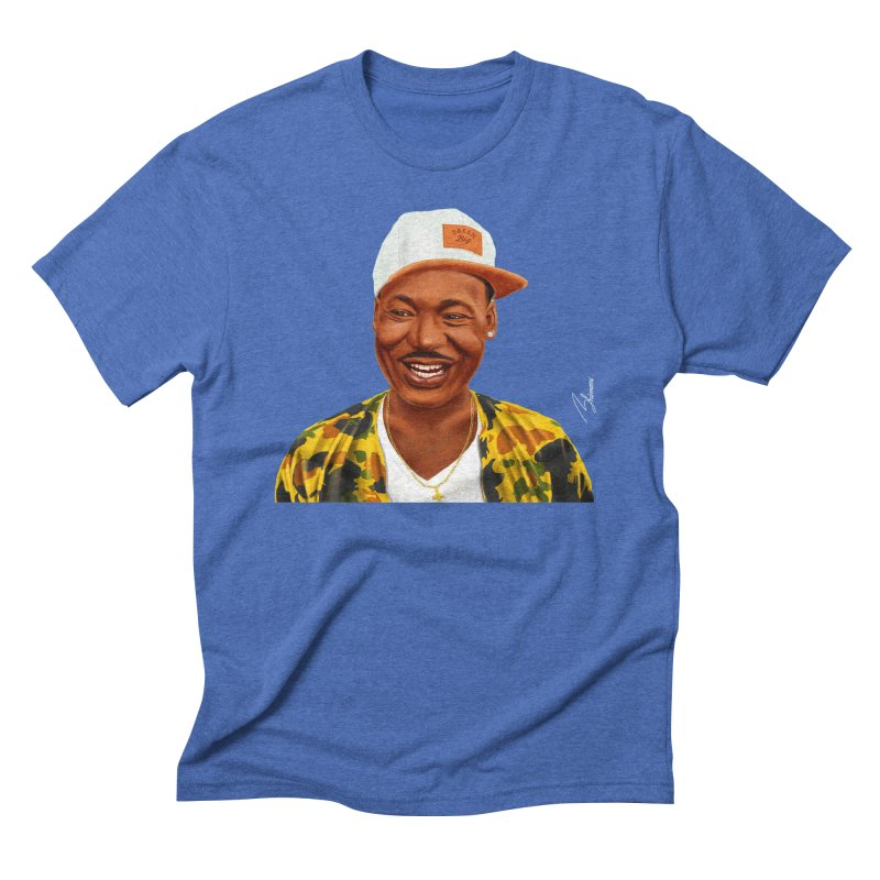 Martin Luther King Men's Triblend T-shirt by shimoni's Artist Shop