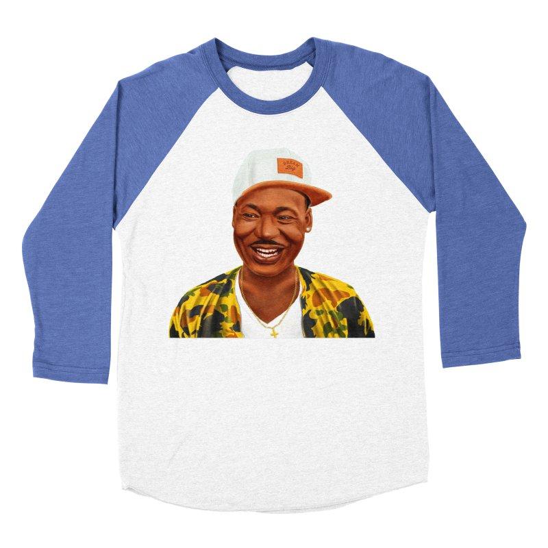 Martin Luther King Men's Baseball Triblend T-Shirt by shimoni's Artist Shop