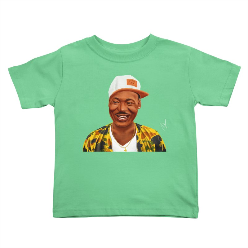 Martin Luther King Kids Toddler T-Shirt by shimoni's Artist Shop