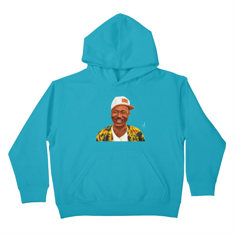 Martin Luther King Kids Pullover Hoody by shimoni's Artist Shop