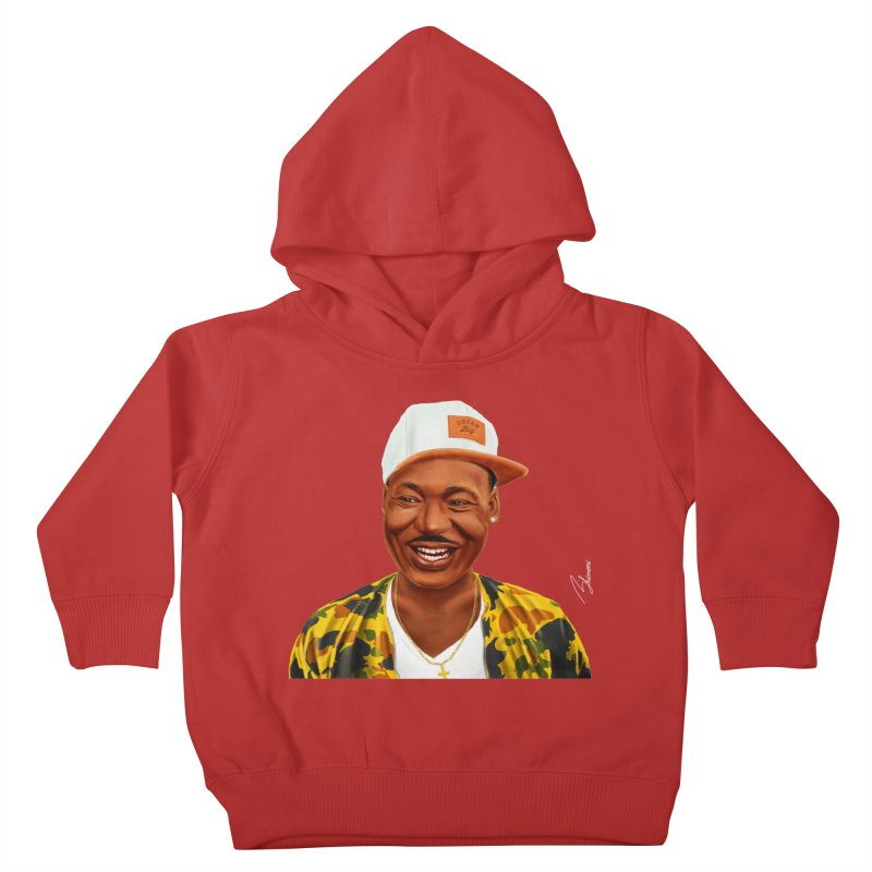 Martin Luther King Kids Toddler Pullover Hoody by shimoni's Artist Shop
