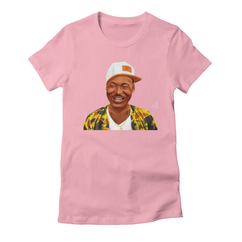 Martin Luther King Women's Fitted T-Shirt by shimoni's Artist Shop