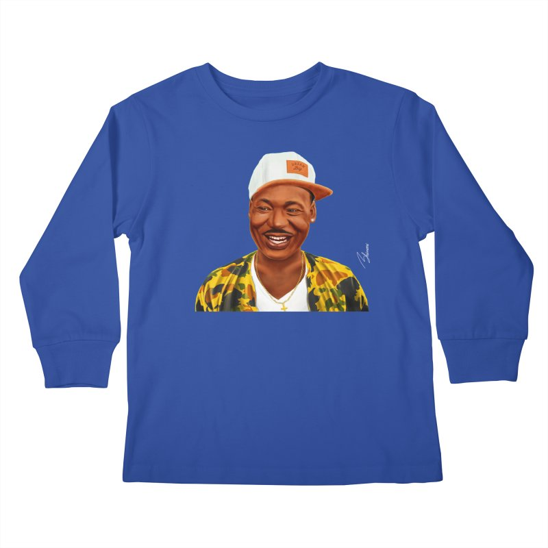 Martin Luther King Kids Longsleeve T-Shirt by shimoni's Artist Shop