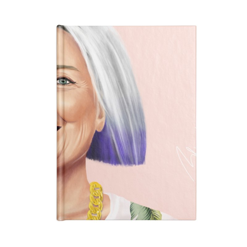 Hillary Clinton Accessories Notebook by shimoni's Artist Shop