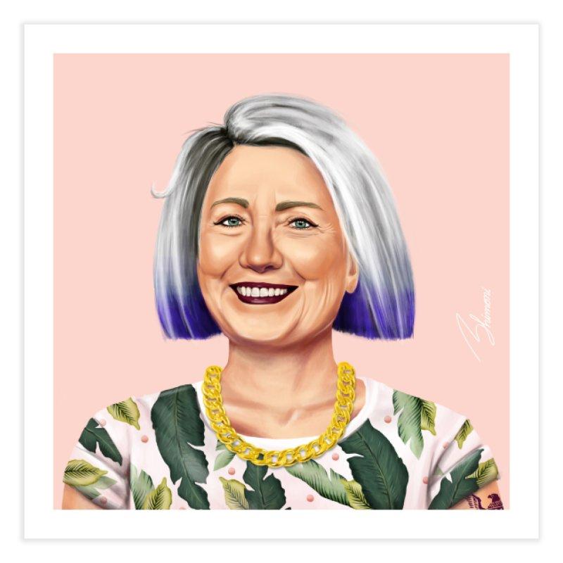 Hillary Clinton Home Fine Art Print by shimoni's Artist Shop