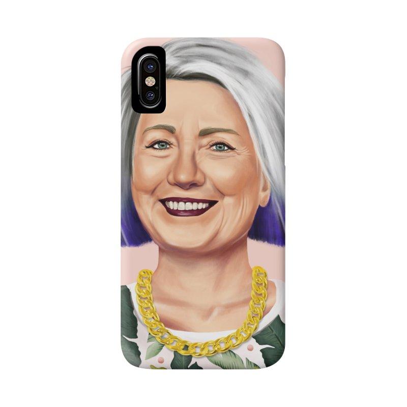 Hillary Clinton Accessories Phone Case by shimoni's Artist Shop