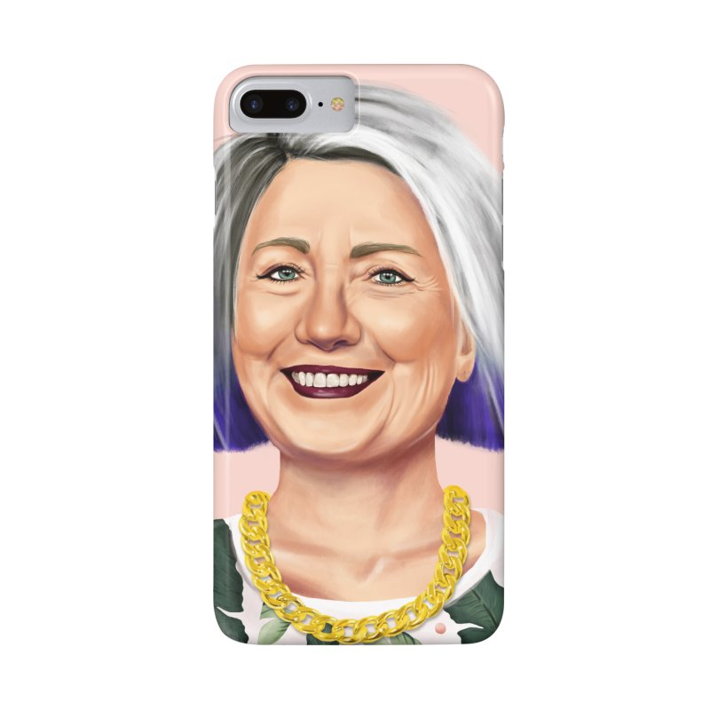 Hillary Clinton Accessories Phone Case by shimoni's Artist Shop