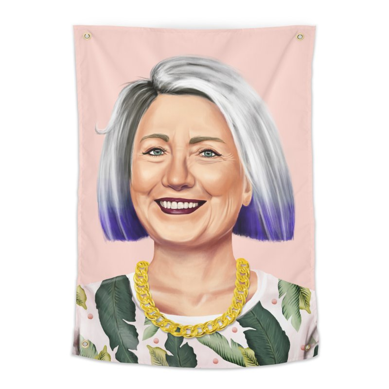 Hillary Clinton Home Tapestry by shimoni's Artist Shop