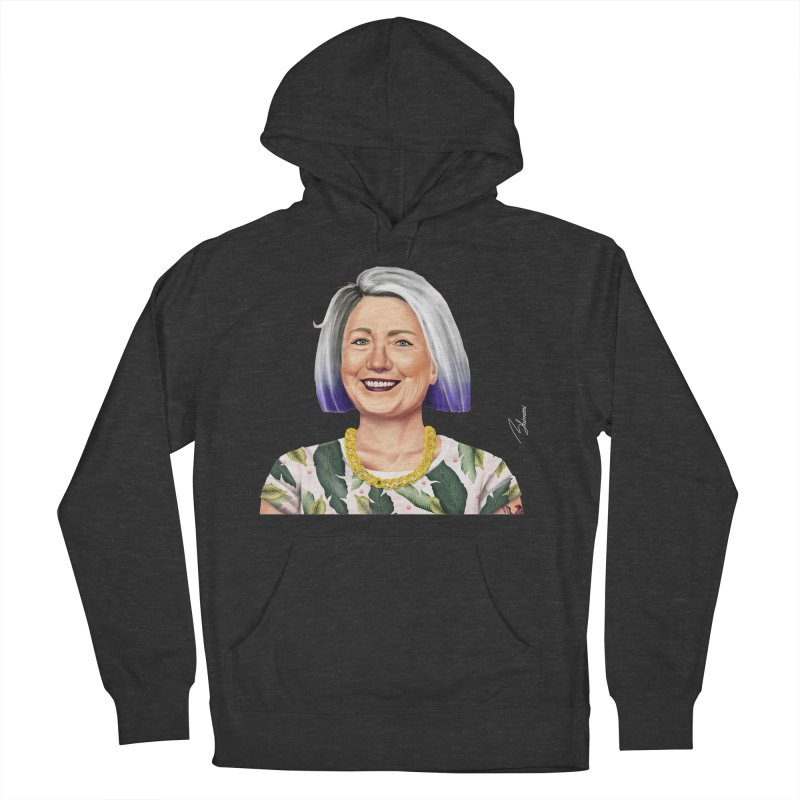 Hillary Clinton Men's Pullover Hoody by shimoni's Artist Shop