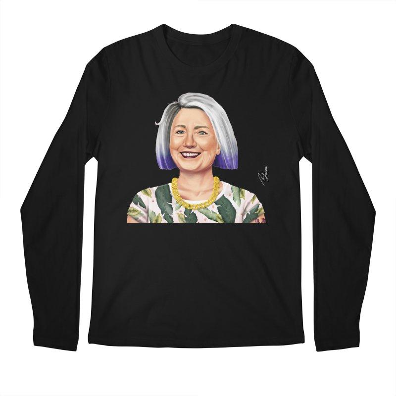 Hillary Clinton Men's Longsleeve T-Shirt by shimoni's Artist Shop
