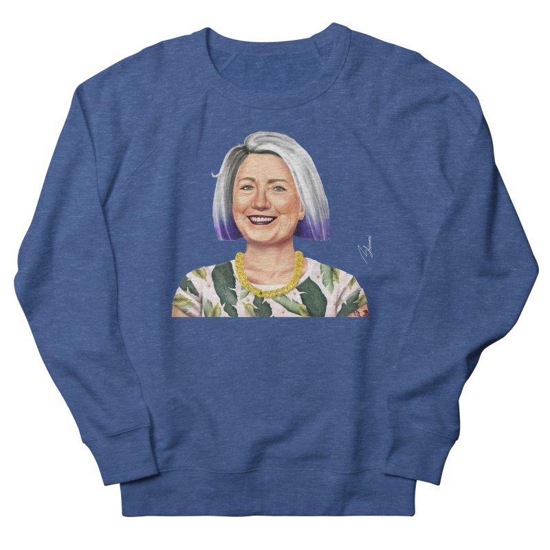 Hillary Clinton Men's Sweatshirt by shimoni's Artist Shop