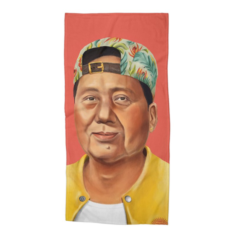 Mao Zedong Accessories Beach Towel by shimoni's Artist Shop