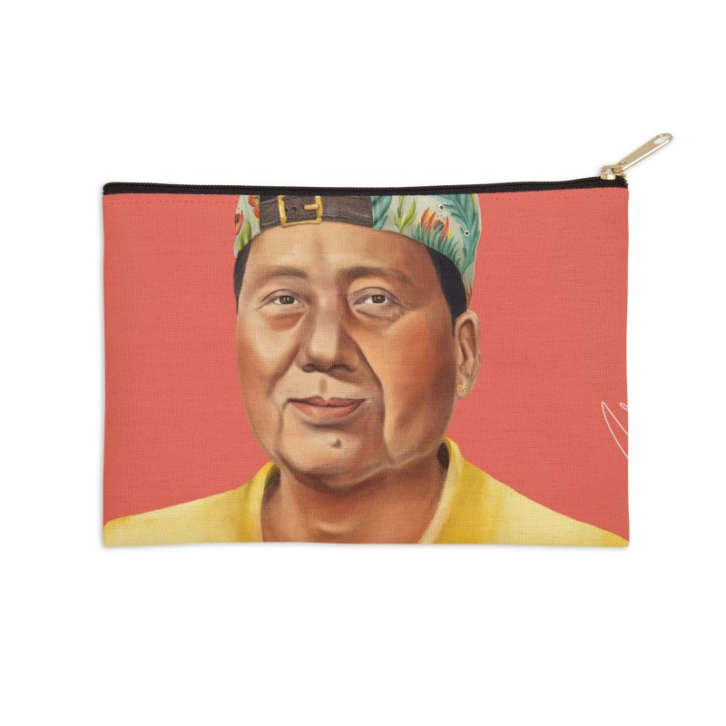 Mao Zedong Accessories Zip Pouch by shimoni's Artist Shop