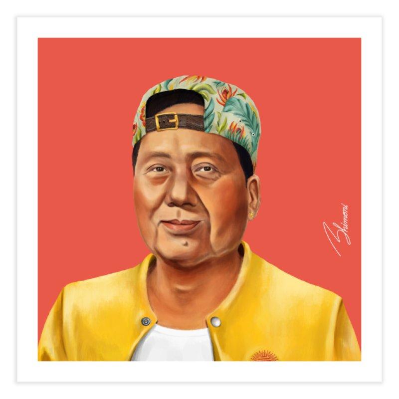 Mao Zedong Home Fine Art Print by shimoni's Artist Shop